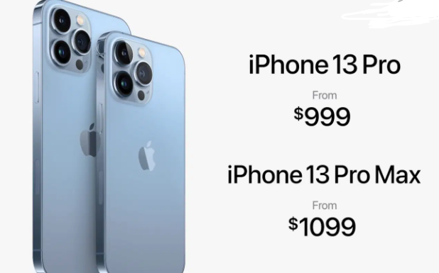 iPhone 13 Pro Max price in USA